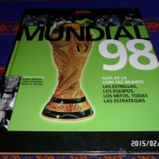 Coleccionismo deportivo: COLECCIÓN SPORT MUNDIAL 98 FRANCIA EDICIONES B. TAPA DURA. REGALO FICHERO MARCA!!!!. Lote 47952981