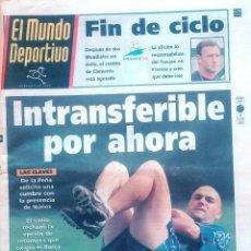 Coleccionismo deportivo: MUNDO DEPORTIVO. 1998. INTRANSFERIBLE POR AHORA.. Lote 48097129