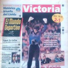 Coleccionismo deportivo: MUNDO DEPORTIVO. 1993. VICTORIA CON MORBO.. Lote 48116522