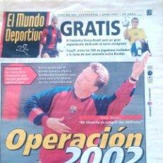 Coleccionismo deportivo: MUNDO DEPORTIVO. 1999. VAN GAAL OPERACIÓN 2002. Lote 48117899