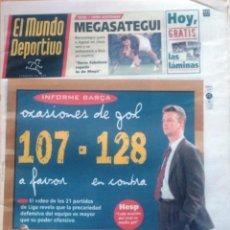 Coleccionismo deportivo: MUNDO DEPORTIVO. 1998. INFORME BARÇA. OCASIONES DE GOL 107 - 128 . Lote 48137420