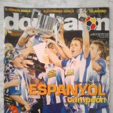 Coleccionismo deportivo: REVISTA DON BALÓN - Nº 1592 - 2006 - COPA DEL REY ESPANYOL CAMPEÓN, ELECCIONES BARÇA, FABIÁN AYALA. Lote 48155086
