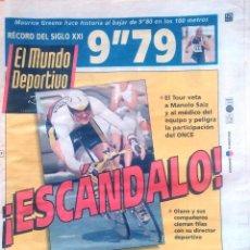 Coleccionismo deportivo: MUNDO DEPORTIVO. 1999. ¡ESCANDALO! TOUR. Lote 48160201