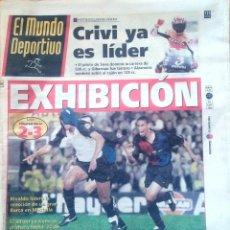 Coleccionismo deportivo: MUNDO DEPORTIVO. 1999. EXHIBICIÓN. LIGA VILLAREAL-BARÇA 2-3. Lote 48161322