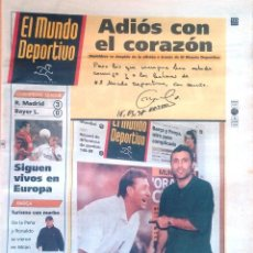 Coleccionismo deportivo: MUNDO DEPORTIVO. 1998. ADIÓS CON EL CORAZÓN STOICHKOV.. Lote 48165288
