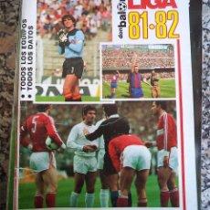 Coleccionismo deportivo: DON BALON EXTRA LIGA 81/82 TODO SOBRE LA LIGA. Lote 48406706