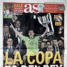 Coleccionismo deportivo: DIARIO AS - COPA DEL REY 2014 - REAL MADRID - BARCELONA. Lote 48460602