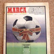 Coleccionismo deportivo: DIARIO MARCA - 3 DE ABRIL 1992, 92 - JUAN GOMEZ ( JUANITO ) - DESCANSA EN PAZ - . Lote 48490640