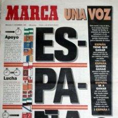Coleccionismo deportivo: DIARIO MARCA - CLASIFICACION MUNDIAL USA 1994 - ESPAÑA - DINAMARCA CAÑIZARES. Lote 48494381