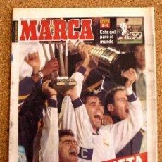 Coleccionismo deportivo: DIARIO MARCA - 2 DE DICIEMBRE 1998, 98 - REAL MADRID - PREMIO PLANETA -. Lote 48508428