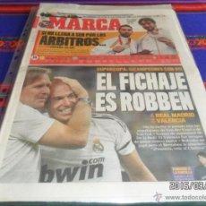 Coleccionismo deportivo: MARCA 25-8-08 REAL MADRID CAMPEÓN SUPERCOPA FRENTE VALENCIA. MEDALLA PLATA BALONCESTO JUEGOS PEKING.. Lote 48551987