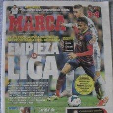 Coleccionismo deportivo: DIARIO ''MARCA'' - REAL MADRID - F.C. BARCELONA (3-4) - 24-3-2014. Lote 48620217