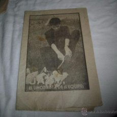 Coleccionismo deportivo: JAZY. EL LINOTIPISTA DE LÈQUIPE.40 DIAS,40 ASES,40 BIOGRAFIAS.FUTBOL.MARCA 1-9-1963. Lote 48702827