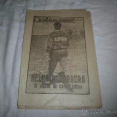 Coleccionismo deportivo: HELENIO HERRERA.EL MAGO DE CASABLANCA.40 DIAS,40 ASES,40 BIOGRAFIAS.FUTBOL.MARCA 8-8-1963. Lote 48702876