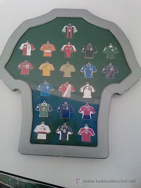 Coleccionismo deportivo: -COLECCION 20 LLAVEROS CAMISETAS EQUIPOS 1ª DIVISION DE FUTBOL CON EXPOSITOR- -REVISTA MARCA - Foto 5 - 193176858