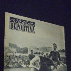 Coleccionismo deportivo: VIDA DEPORTIVA. Nº 224. 20 DICIEMBRE 1949. EL CAMINO DE LA RECUPERACIÓN, PASO POR TARRAGONA.. Lote 48854331