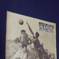 Coleccionismo deportivo: VIDA DEPORTIVA. Nº 240. 11 ABRIL 1950. EN LISBOA, MOMENTOS DIFICILES.. Lote 48854836