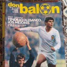 Coleccionismo deportivo: DON BALON Nº 319 1981 TENDILLO PICHI ALONSO ALESANCO . Lote 48864138