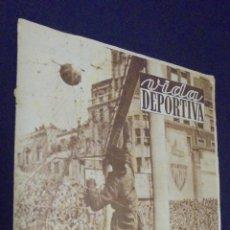 Coleccionismo deportivo - VIDA DEPORTIVA. Nº 297. 22 MAYO 1951. EL BARCELONA GANÓ Y MERECIÓ LA VICTORIA EN SAN MAMÉS. - 48869078