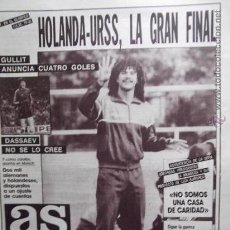 Collectionnisme sportif: AS-1988-Nº6441-40PAGINAS- COMPLETO-. Lote 23504107