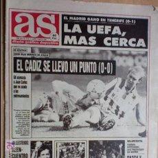 Coleccionismo deportivo: AS-1991-Nº7459-BALLESTEROS-ARRESE-. Lote 21125536