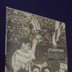 Coleccionismo deportivo: VIDA DEPORTIVA. Nº 507. JUNIO 1955. EL ESPAÑOL DIO UN PASO EN FIRME.. Lote 49034935