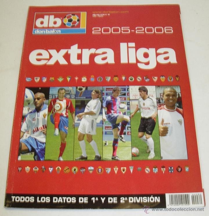 EXTRA DON BALON LIGA 2005-2006 (Coleccionismo Deportivo - Revistas y Periódicos - Don Balón)