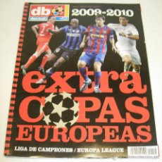 Coleccionismo deportivo: EXTRA DON BALON COPAS EUROPEAS 2009-2010. Lote 49117301
