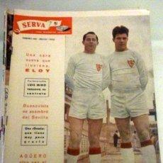 Coleccionismo deportivo: REVISTA SERVA - VIDA DEPORTIVA SEVILLISTA Nº 14 - FEBRERO 1960 - SEVILLA FC. Lote 49143839
