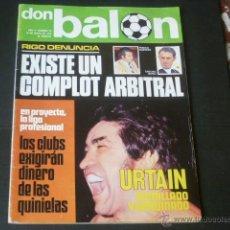 Coleccionismo deportivo: REVISTA DON BALON AÑO II - NÚMERO 33 - 18 DE MAYO DE 1976 - PORTADA URTAIN. Lote 49151611