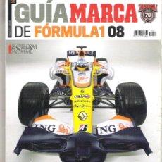Coleccionismo deportivo: GUIA MARCA 2008 - FORMULA 1 - ALONSO BUSCA SU LIMITE. Lote 49158669