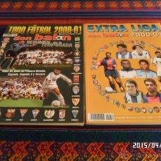 Coleccionismo deportivo: DON BALÓN EXTRA LIGA 2000 01 Y TODO FÚTBOL RESUMEN TEMPORADA. NºS 52 Y 54. 500 PTS. BUEN ESTADO.. Lote 49173220