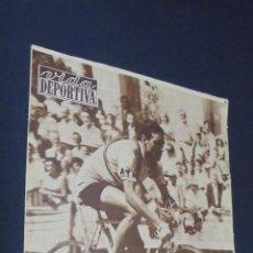 Coleccionismo deportivo: VIDA DEPORTIVA. Nº 625. 9 SEPTIMBRE 1957. EL BARCELONA, EN LA CORUÑA, BAJO EL SIGNO DE LA SIMPATIA.. Lote 49176780