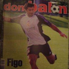 Coleccionismo deportivo: REVISTA DON BALON Nº 1347 FIGO AGOSTO 2001. Lote 49200746