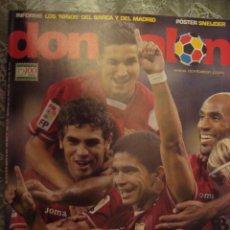 Coleccionismo deportivo: REVISTA DON BALON Nº 1662 SEVILLA CAMPEON SUPERCOPA ESPAÑOLA AGOSTO 2007. Lote 124432847