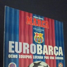 Coleccionismo deportivo: SUPLEMENTO MARCA. 28 FEBRERO 1995. COMPEONS DE EUROPA. CON POSTER CENTRAL.. Lote 49211258