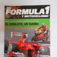 Coleccionismo deportivo: GUIA MARCA FORMULA 1 Y MOTOCICLISMO. AÑO 2012. TDKR3. Lote 49256256