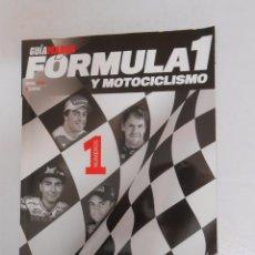Coleccionismo deportivo: GUIA MARCA. FORMULA 1 Y MOTOCICLISMO. AÑO 2013. TDKR3. Lote 49256286