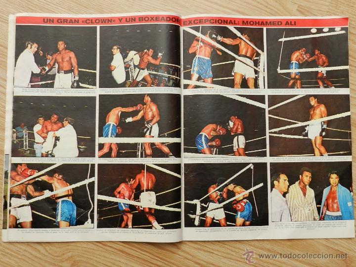 Coleccionismo deportivo: As color semanario gráfico deportivo nº64 nº 64 Cassius Clay Año 1972 regalo el nº31 Urtain Boxeo - Foto 3 - 49257374