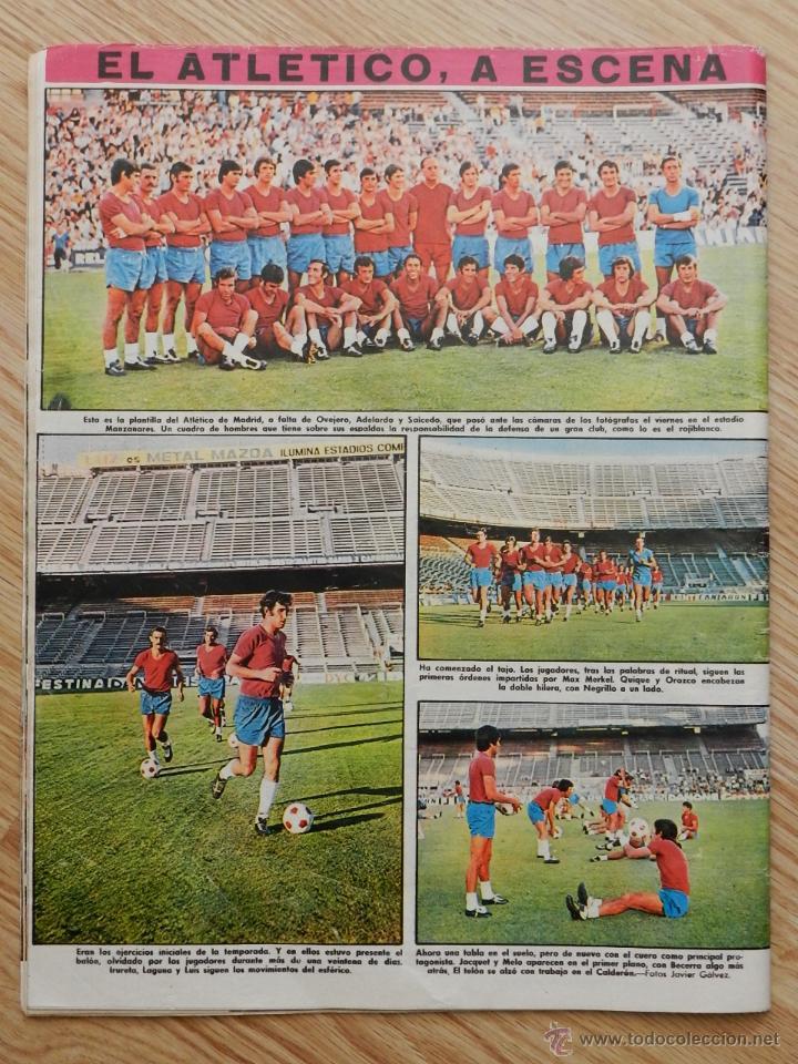 Coleccionismo deportivo: As color semanario gráfico deportivo nº64 nº 64 Cassius Clay Año 1972 regalo el nº31 Urtain Boxeo - Foto 4 - 49257374