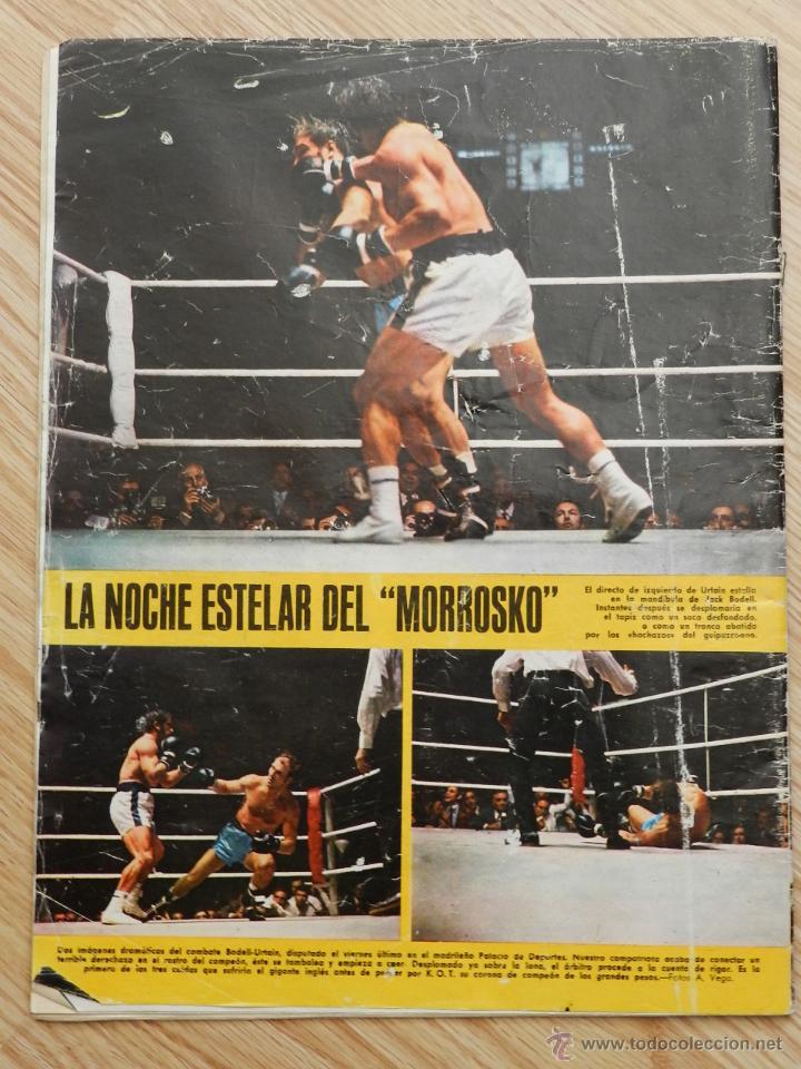 Coleccionismo deportivo: As color semanario gráfico deportivo nº64 nº 64 Cassius Clay Año 1972 regalo el nº31 Urtain Boxeo - Foto 6 - 49257374