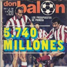 Coleccionismo deportivo: REVISTA DON BALON.N 200.AGOSTO 1979.. Lote 49262125