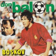 Coleccionismo deportivo: REVISTA DON BALON.N 202.AGOSTO 1979.. Lote 49262235