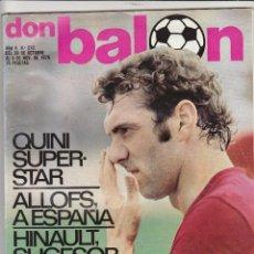 Coleccionismo deportivo: REVISTA DON BALON.N 212.NOVIEMBRE 1979.POSTER SPORTING GIJON.. Lote 49262346
