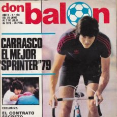 Coleccionismo deportivo: REVISTA DON BALON.N 194.JULIO 1979.. Lote 49262464