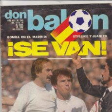 Coleccionismo deportivo: REVISTA DON BALON.N 340.ABRIL 1982.. Lote 49262797