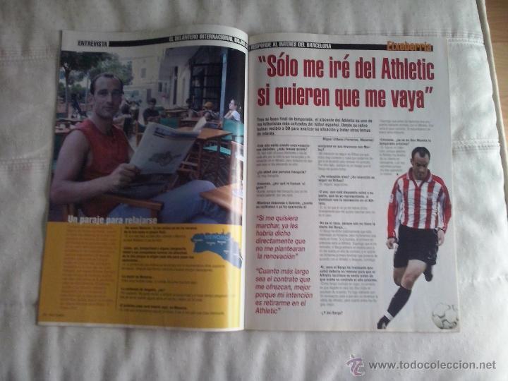 Coleccionismo deportivo: DON BALON Nº 1449 - 2003 - RONALDINHO NUEVO JUGADOR DEL BARCELONA - SIMEONE VUELVE AL ATLETICO - Foto 3 - 49429894
