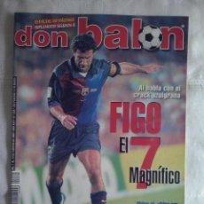 Coleccionismo deportivo: DON BALON Nº 1269 - 2000 - FIGO - ROMARIO.... Lote 49430079