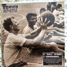 Coleccionismo deportivo - SEMANARIO FUTBOL VIDA DEPORTIVA 1958 FC BARCELONA 58/59 KUBALA KOCSIS HELENIO HERRERA VALENCIA CF - 162711648