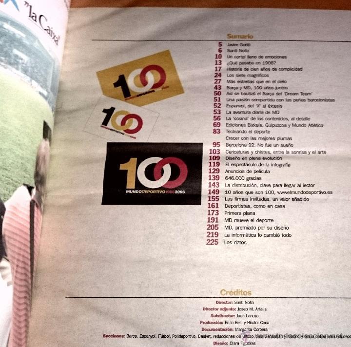 Coleccionismo deportivo: Cent anys d´emocions - mundo deportivo - Cien años de emociones - EN CASTELLANO ( Gran formato ) - Foto 3 - 49453366